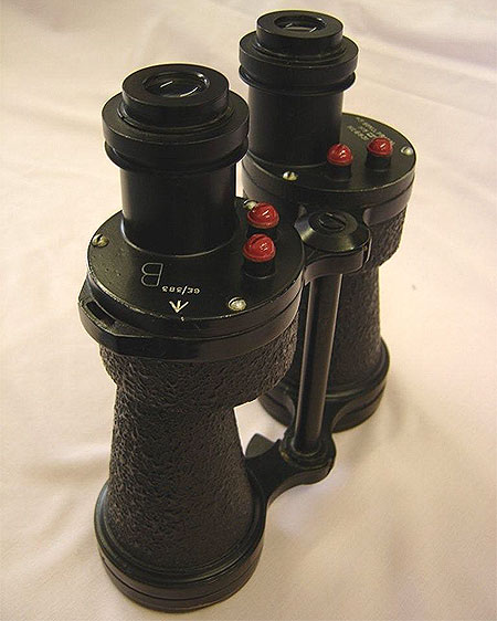 Ross 5x45 Mk IV fixed-focus binocular