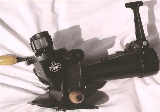A rare Zeiss 10x80 (80°) binocular, with filters on the right side only